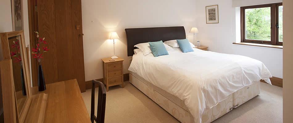 There are four bedrooms all furnished with an eye to comfort