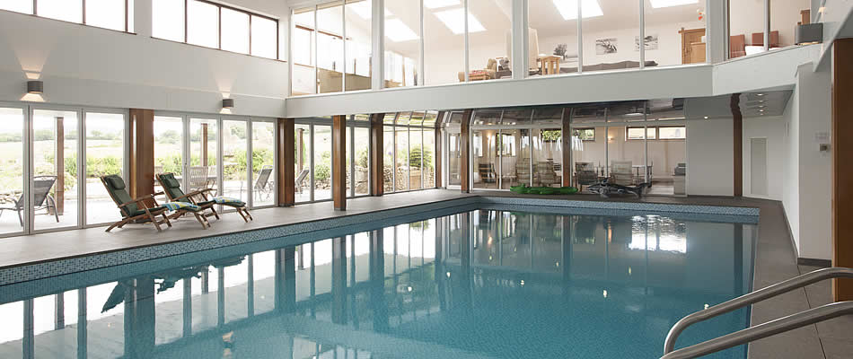 Prices include exclusive use of indoor swimmingpool and games room